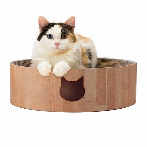 Cozy Cat Scratcher Bowl (Cat)