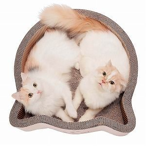 Cat-headed Scratcher Bed Large