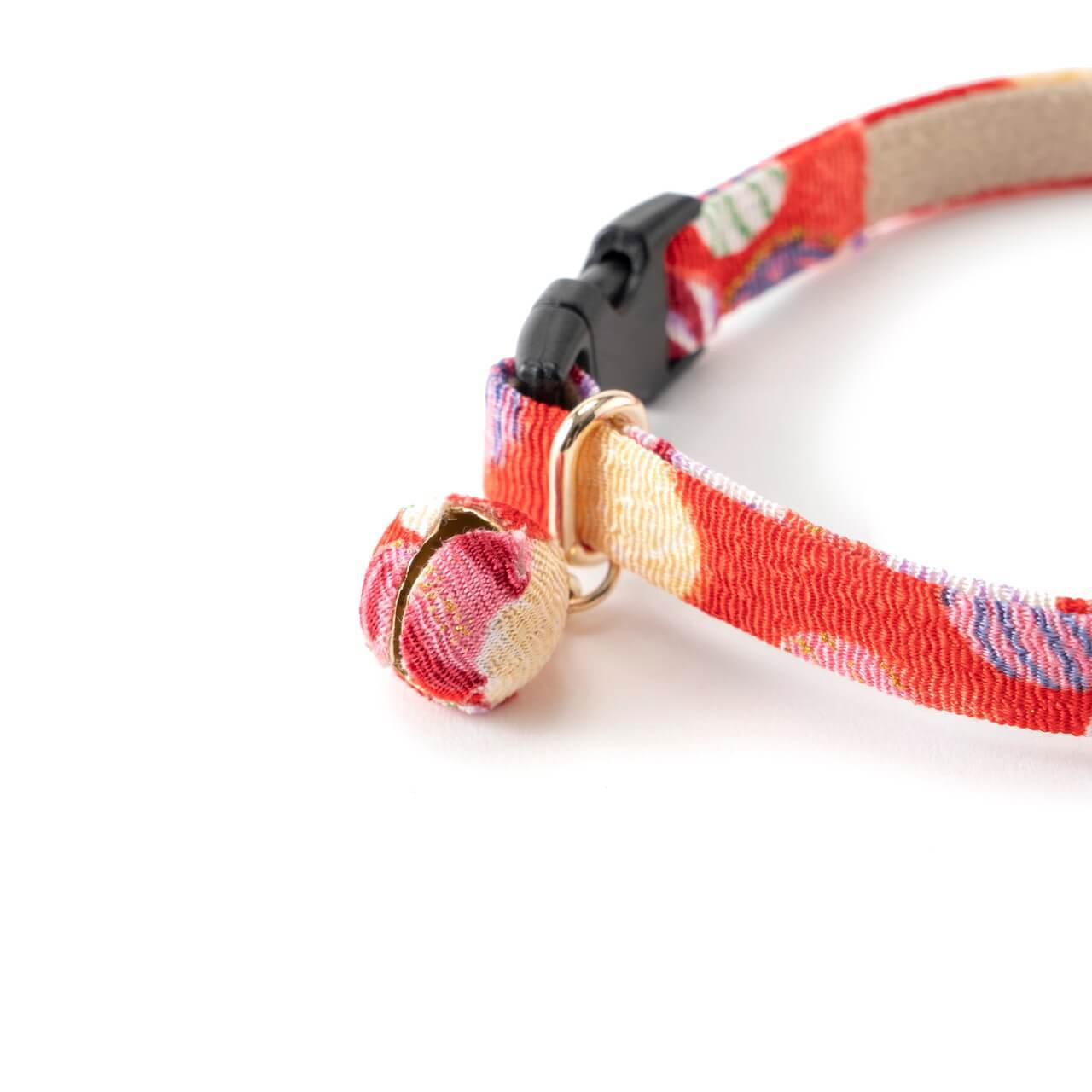 Origami Balloon Bell Cat Collar <br>(Red)