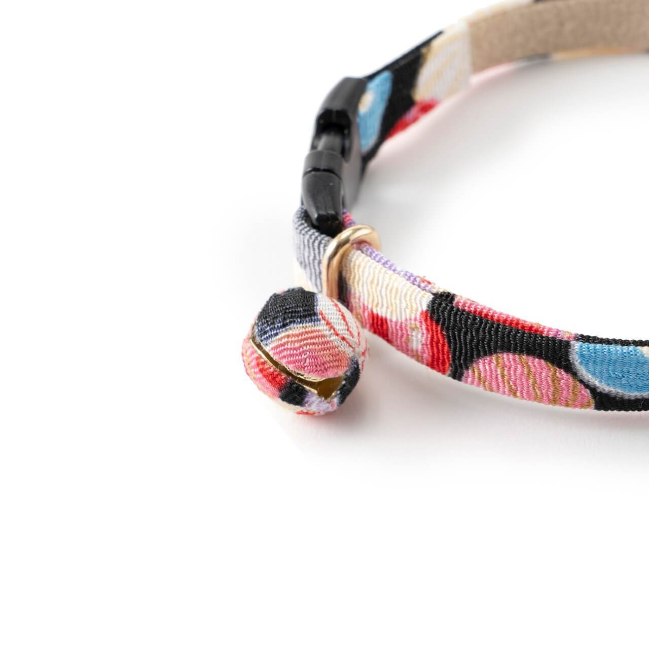 Origami Balloon Bell Cat Collar <br>(Black)