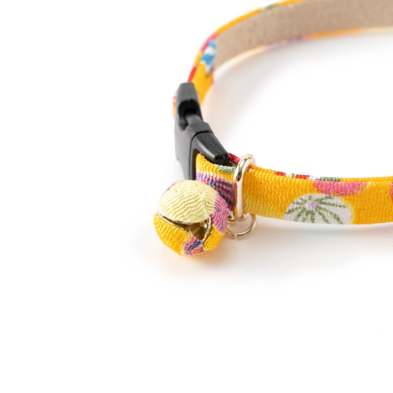 Origami Balloon Bell Cat Collar <br>(Yellow)